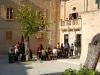 Una terraza en Mdina