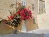 Flores en una esquina de Mdina