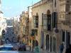 Calle larga en Valetta