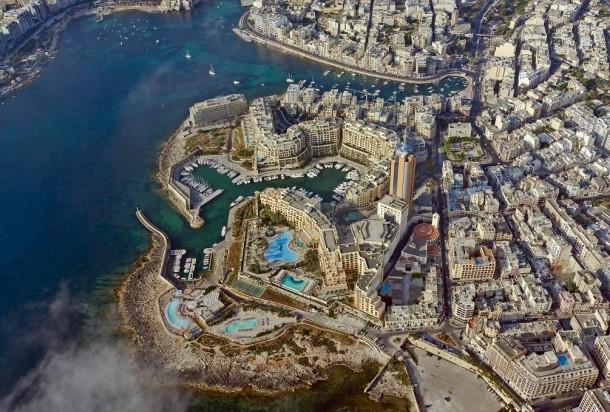 Vista aérea de St. Julian