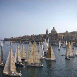 Regata Rolex Middle Sea Race, una de las regatas más importantes del mundo, comienza y finaliza en Malta.