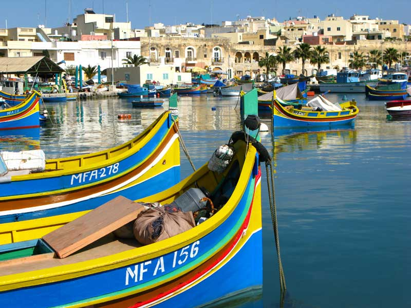 malta-marsaxlokk-luzzu-fishing-boats-by-vanicsek-peter