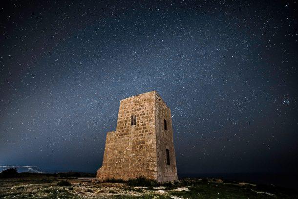 Turismo astronómico en Malta
