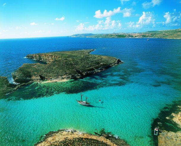 Huye del frío en Malta
