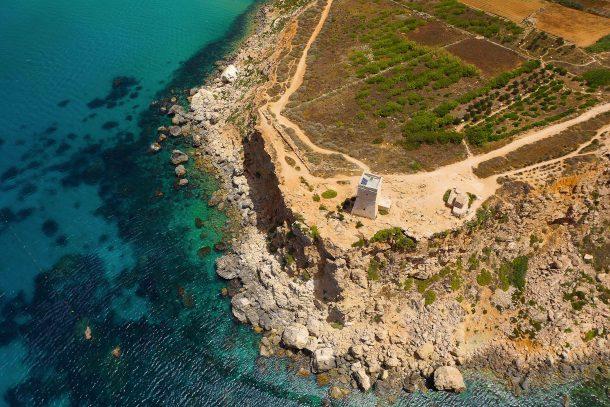 Las torres de vigilancia de Malta