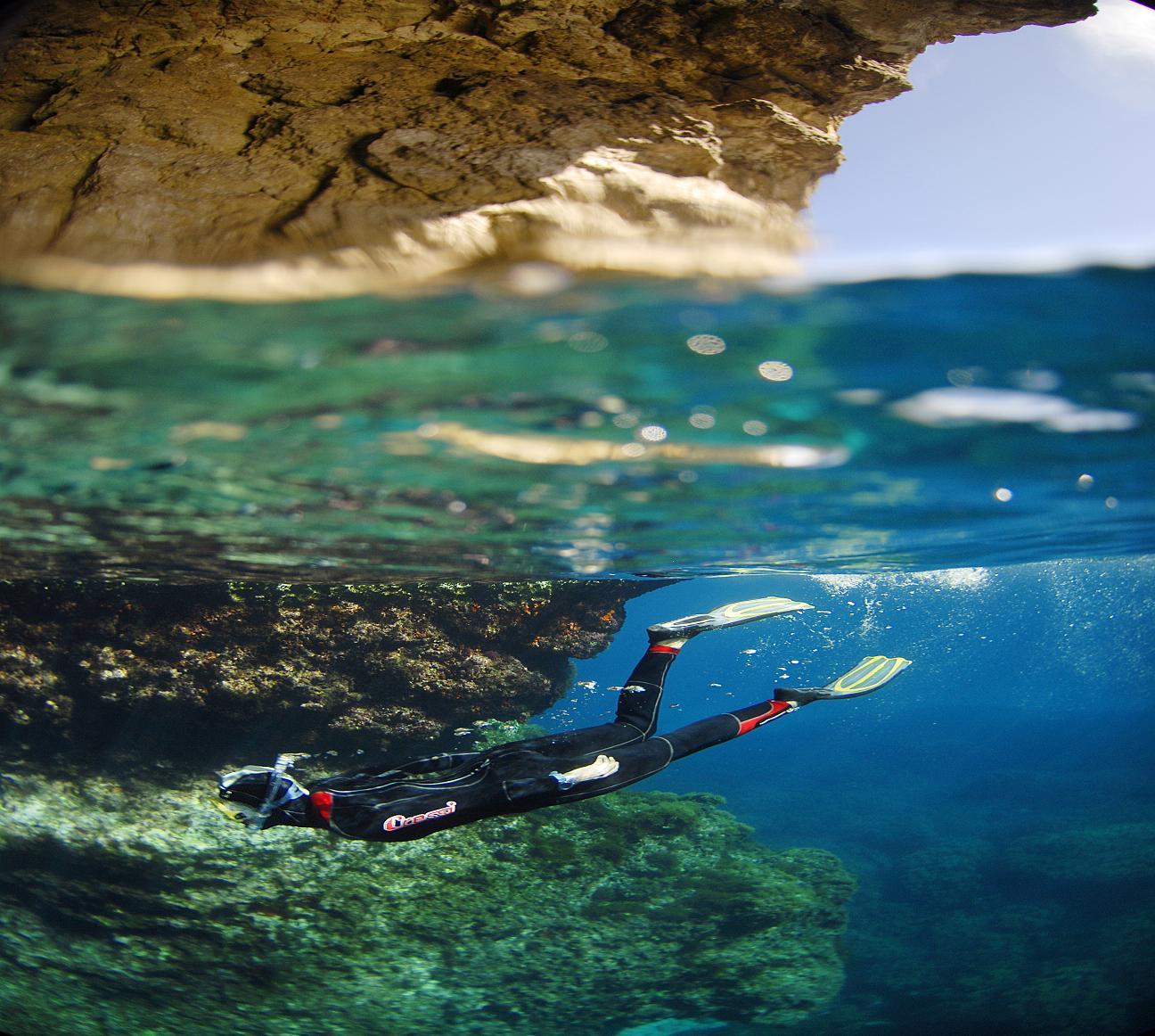 Snorkelling in Malta by Paolo Meitre Liberatini