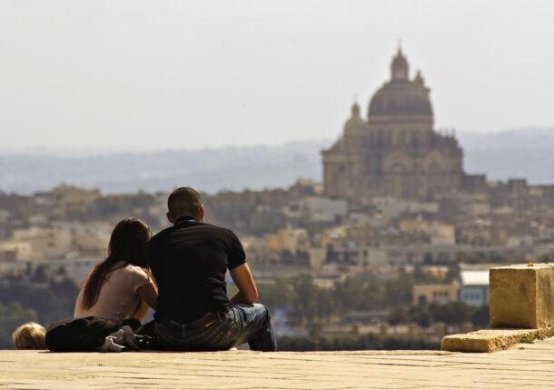 Vista de Xewkija, Gozo