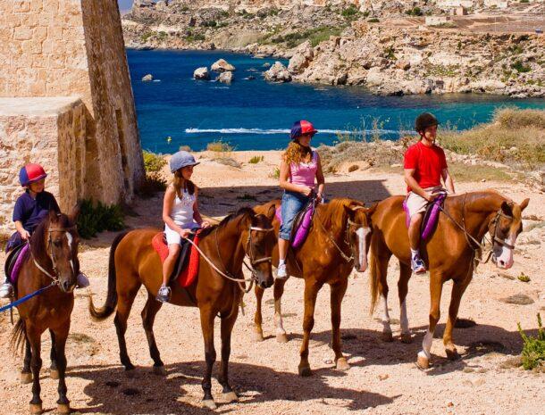 Descubre Malta a caballo